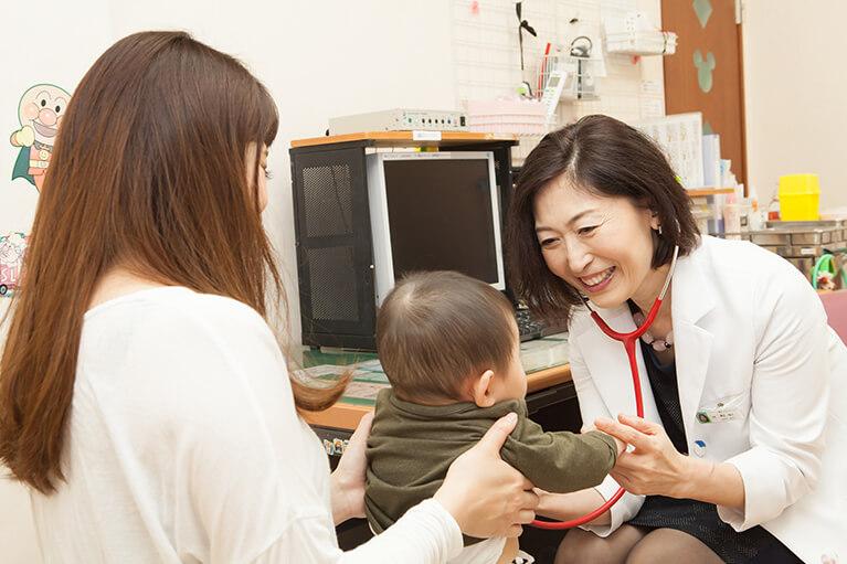 子育て経験のある女医が診療